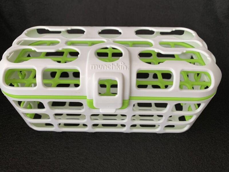 Munchkin Deluxe Dishwasher Basket Straw Cleaning Rack