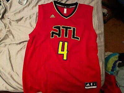 Atlanta Hawks NBA Paul Millsap Adidas Basketball Jersey Men's size Large