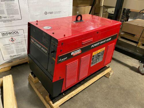 Lincoln Power Wave 455M Robotic Welder Arclink Fanuc Robot Welding