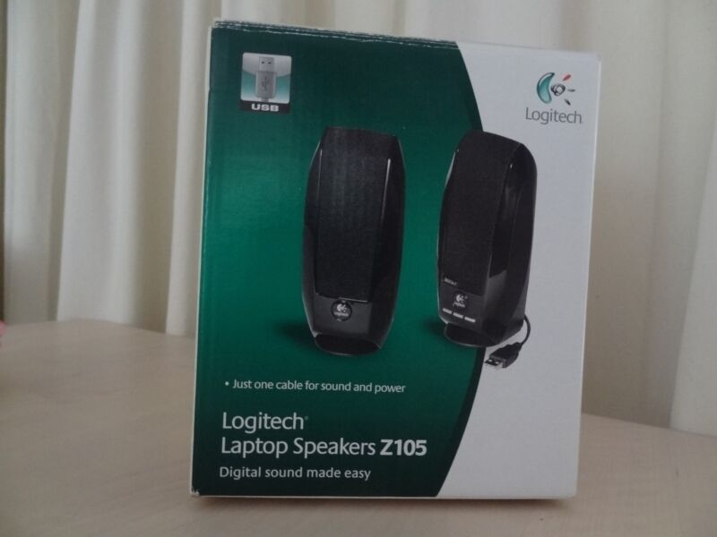 NEW DRIVERS: LOGITECH LAPTOP SPEAKER Z105