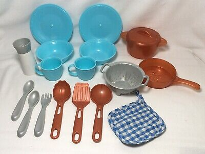 Step 2 Play Kitchen Dishes Pan & Pot Lids Utensils More Step2 Accessories Lot