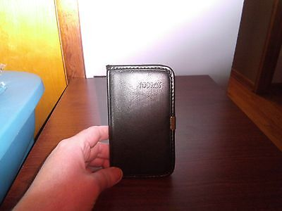 Pocket Address Book with Black  Cover