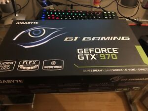 Gigabyte G1 gaming gtx 970 4gb graphics card