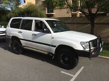 100 series Land Cruiser East Perth Perth City Preview