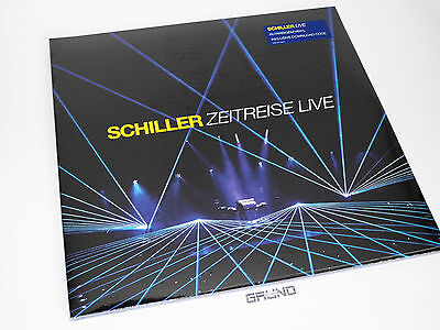 2 LP: Schiller – Zeitreise Live, Limited Edition, BLUE Vinyl, NEU & OVP (A13/1)