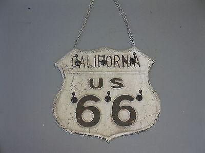 Blechschild Route 66  28cm x 28cm