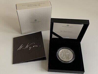 THE GREAT ENGRAVERS THREE GRACES 2020 SILVER PROOF 2oz COIN THE ROYAL MINT