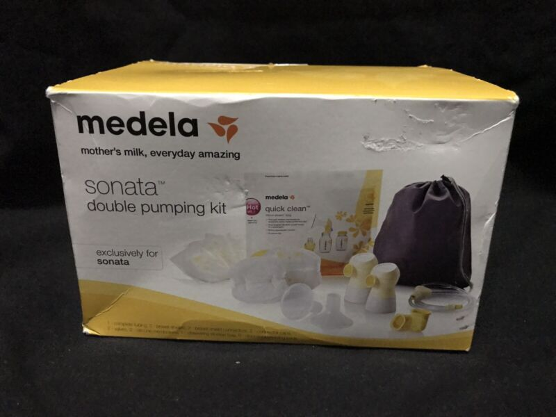Medela Sonata Double Pumping Kit: Factory Sealed; Outer Box Has Condition Issues