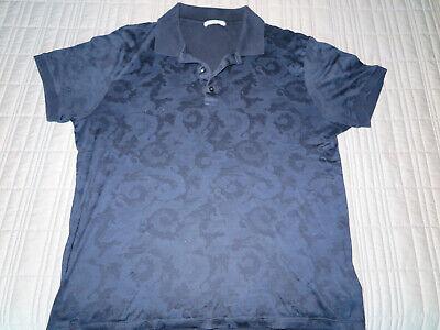 Men's Versace Collection Baroque Polo Shirt