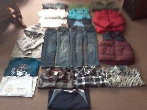 Big bag of boy's brand name clothes sz.4-5 asking $ 25.00