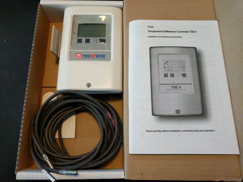 Solar Thermal / Hot Water Pump Controller Delta Temperature
