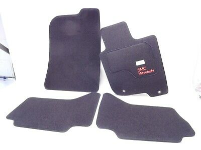 NEW GENUINE MITSUBISHI L200 DC DOUBLE CAB 2006> SET OF FLOOR MATS CARPETS RHD UK