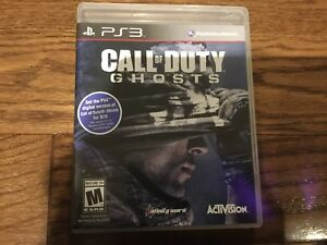 PS3 call of duty ghosts video game