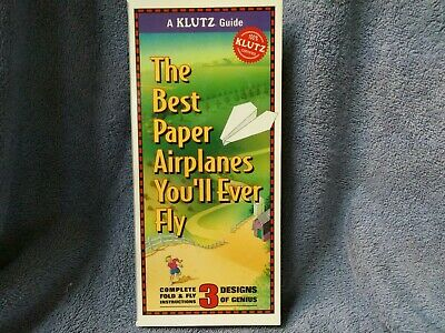 Klutz Guide The Best Paper Airplanes You'll Ever Fly, Like (Best Paper Airplane Template)