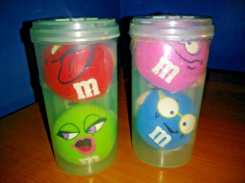 M&Ms Set of 2 Tubes M&M Micro Swarmees 2 Characters In Each Sealed 2000
