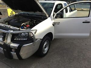 Hilux 2009 v6 with rwc and reg Urgent Sale may swap Tullamarine Hume Area Preview