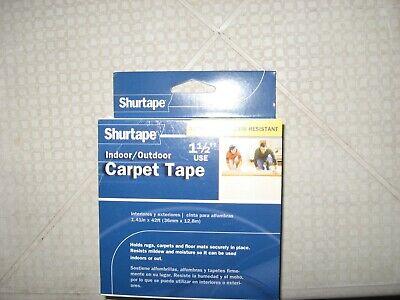 New Shurtape Indoor Outdoot Carpet Tape Moisture Resisitant 112 X 42ft