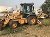 Backhoe and trencher services