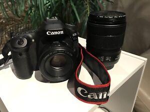 Canon 80D + 2 Lenses