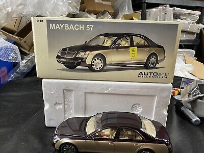 Maybach 57 Red Wine & Champagne AUTOart 1:18 Scale Diecast Model Car