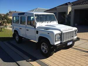 2013 Land Rover Defender 110 13MY 6 Speed Manual Wagon Hoppers Crossing Wyndham Area Preview
