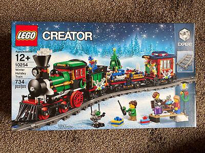 Lego Creator Winter Holiday Train (10254) Never Opened