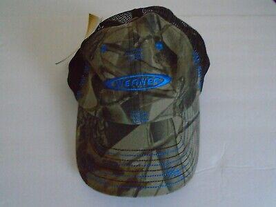 Werner Baseball Cap Hat Realtree Brown Camoflauge Adjustable Mesh Back Cap  Hat 996776265393