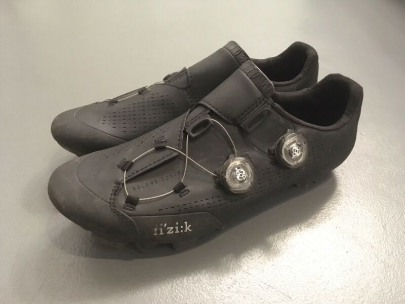 FIZIK INFINITO X1 MTB SHOES 42 27 CM BLACK CRACKED FOR REPAIR sram specialized