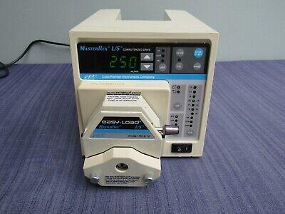 Cole Parmer Masterflex Ls Computerized Drive Pump 7550-10 With 7518-10 Head