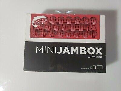 SEALED Jawbone MINI JAMBOX - Red Dot... Wireless Speaker & Speakerphone... comprar usado  Enviando para Brazil