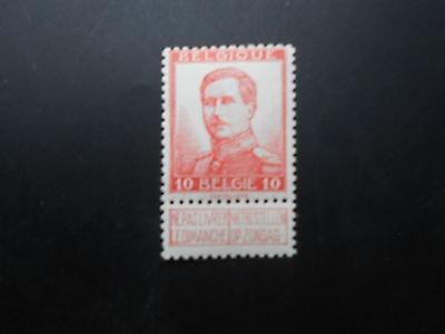 118 xx MNH 10c rood - rouge Pellens