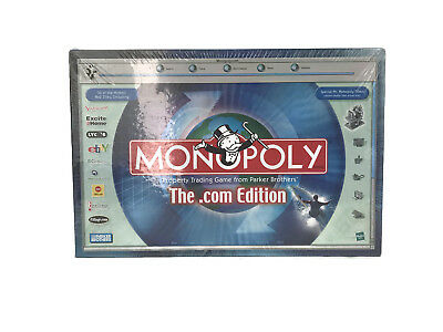 Monopoly Dot Com Edition Parker Brothers Hasbro Family Board Game 2000 -