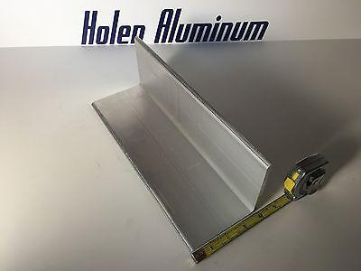 2 Pieces 4 X 4 X 14 X 3 Length Aluminum Angle 6061 T6