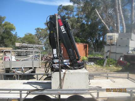 Crane hiab 026T 2008 $6500 Firm Golden Bay Rockingham Area Preview