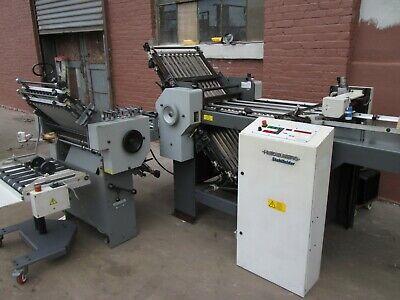 Heidelberg Stahl Folder - 20 Paper Folder Pile Feed Clean Machine