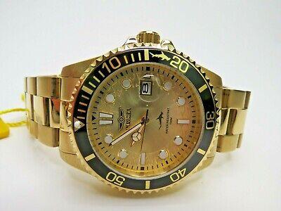 Invicta Pro Diver Quartz Watch Gold Wristwatch 30025
