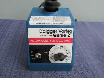 Daigger Mini Vortexer Vortex Genie 2 With Small Top Guaranteed G22220