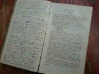altes Manuspript von 1849 ca.190 Seiten & Textteil empirische Psychologie 1846