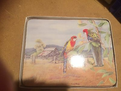 BNIB Vintage Dynasty Australian Made Dinner/Place Mats-6 Total - collectible
