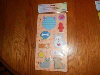 Cats And Dogs Sticky Note Set- 200 Sheets- Adorable