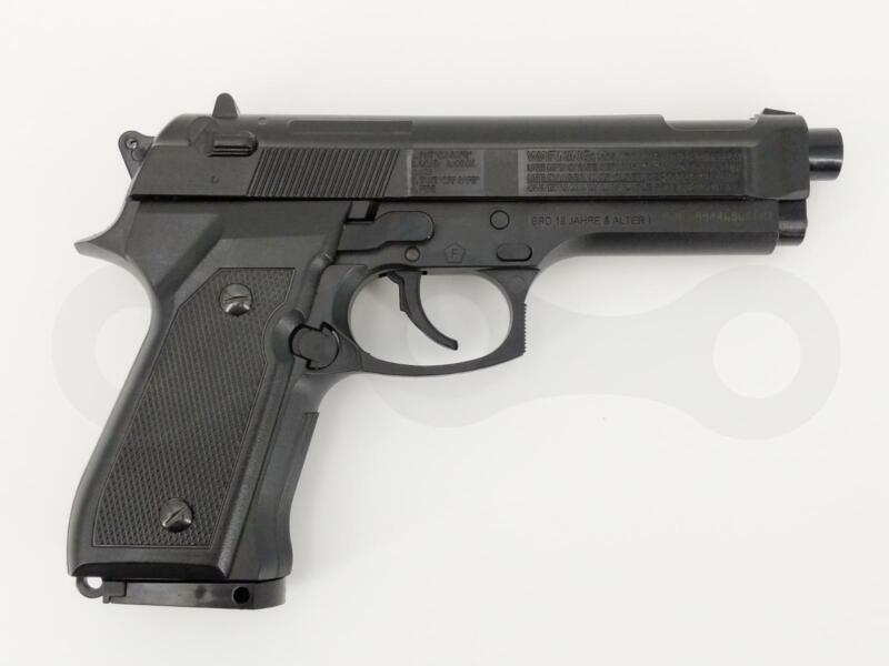 Daisy 980340-442 340 Matte Black Powerline 340 Air Pistol .177 Caliber BB Gun