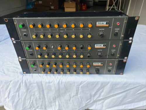TEAC MODEL 1 TASCAM SERIES MIXDOWN LINE MIXER - 3 AVAILABLE