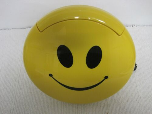 1997 Telemania Smiley Face Land Line Telephone Tested & Works FAST SHIPPING!