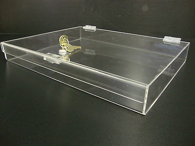 Displays2buy Acrylic Countertop Display 16 X 12 X 2 Locking Security Showcase