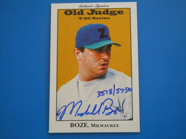 1995 Signature Rookies Old Judge LOT OF 16 W ONE AUTOGRAPH