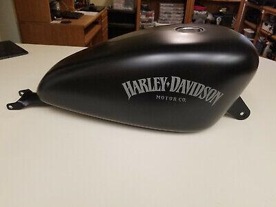 2007 or later Harley Sportster OEM Gas Fuel Tank 3.3 EFI XL 883 1200 Black