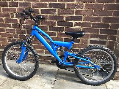 Apollo Trax Child's bike Blue 6 Speed Suspension 20 Inch Wheels