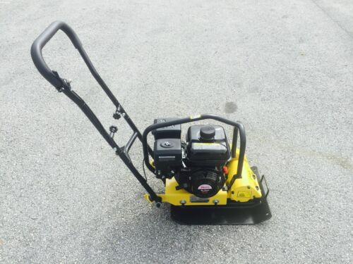 CORMAC Plate compactor model C60, gasoline engine 6.5 Hp @ 4 Stroke