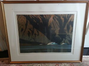 Listed Artist Allen Smutylo Lithograph Plus Other Paintings