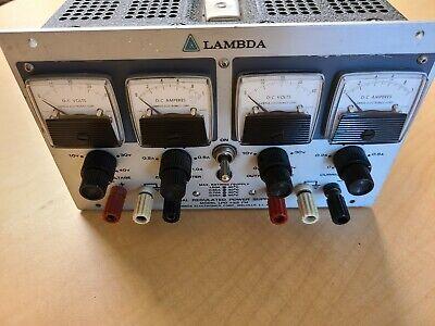 Lambda Lpd-422a-fm Dual Regulated Dc Power Supply 0-40 Vdc 0-1.0 Amp